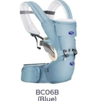 [X-BC06B] - PROMO BABY HIP SEAT GENDONGAN BAYI BABY SAFE - BIRU