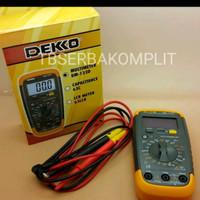 Dekko DM-133D Digital Multitester Multimeter Avometer Murah Berkualita