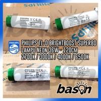 PHILIPS TL-D 36W Super80 BrightBoost - Lampu Neon 1200mm