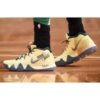 """Sepatu Basket Nike Kyrie 4 Yellow One"""" Premium Original / Pria Wanita"""