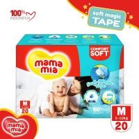 Mamamia Baby Diapers Soft Magic Tape M20