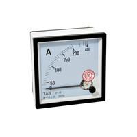 Ampere Meter AC 200 /5A Via CT 96x96 TAB Amperemeter Analog - MURAH