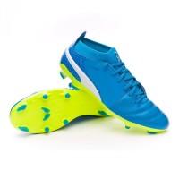 Sepatu bola Puma ONE 17.3 FG Blue Lagoon
