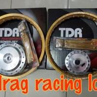 Top!!! Paketan Velg Jari Tromol Ring 14 Tdr Motor Beat. Beat Fi. Beat