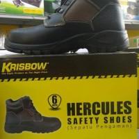Sepatu Safety Krisbow Hercules 6Inchi Berkualitas