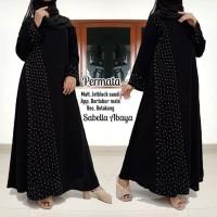 abaya gamis hitam arab murah terbaru mesir dubai ori saudi PERMATA