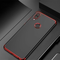 SOFT CASE TRANSPARANT ELECTROPLATED XIAOMI REDMI NOTE 7 BACK COVER