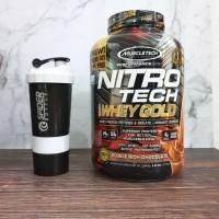 Muscletech Nitrotech Whey Gold 5.5 Lbs Nitro Tech Whey Gold Standard - Coklat