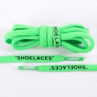 125CM SHOELACES GREEN OVAL LACES TALI SEPATU