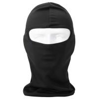 Masker Full Face Spandex Motor Helm Balaclava Ninja Polos Mask Hitam