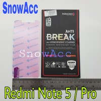 ANTI GORES INDOSCREEN ANTI BREAK XIAOMI Xiao Mi Redmi Note 5 / Pro