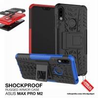Armor Case Asus Zenfone Max Pro M2 ZB631KL Soft & Hard Softcase Casing