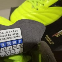 Sepatu Bola - Soccer Mizuno Morelia Neo II Leather Yellow - FG
