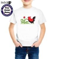 Baju Kaos Mangkok Ayam - anak dan dewasa Studio Kaos