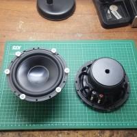 Brahma 6W Caraudio Speaker Audible Physics midbass 6 inch sepasang