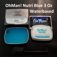 Pomade Oh Man Nutri Blue Firm Hold Heavy Waterbased 85 Gram FREE SISIR