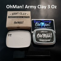 Pomade Oh Man Army Clay The Proffesional Matte Waterbased Murah