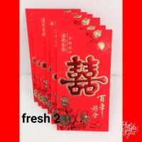angpao shuangxi panjang/angpao sangjit/amplop wedding