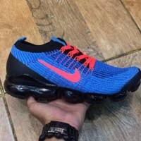sepatu Nike Vapormax blue orange