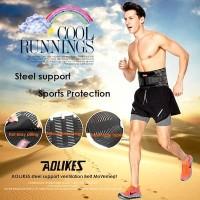 AOLIKES Steel Lumbar Support Waist Body Support Korset Cowok/Cewek