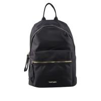 Hush Puppies Back Pack Jarrel 3 Zips Backpack in Black BB71055BK