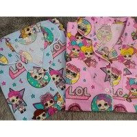 Piyama Baju Tidur Anak LOL SURPRISE CIRCLE Size SS S M XL XXL Katun