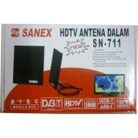 Indoor Antenna Tv LED LCD Sanex SN-711 HDTV Antena Dalam Digital