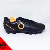 Sepatu Bola Ortuseight Genesis FG Black Ortrange Original .