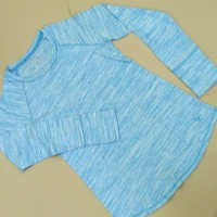 Baju Anak perempuan Justice Biru lengan panjang