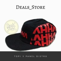 HOT SALE Topi 5 Panel Distro AHHA Terjamin