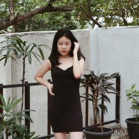 baju artis Anara Mini Dress / Dress Wanita / Terusan Cewek