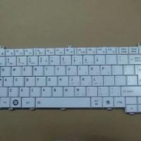 Keyboard Laptop Toshiba c600 c640 l600 l630 l635 l640 l640d l645 Putih