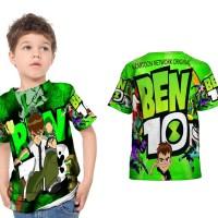 kaos baju anak custom ben 10 fullprint sublimation