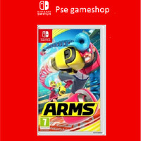 Nintendo Switch Arms English Cover Asia