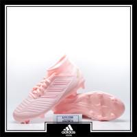 Sepatu Bola Adidas Predator 18.3 FG Pink Original DB2002
