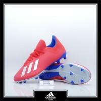 Sepatu Bola Adidas X 18.3 FG Red Silver Original BB9367