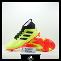 Sepatu Bola Adidas Predator 18.3 FG Yellow Orange Original DB2003