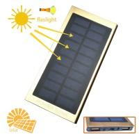 Power Bank Solar Cell 9000mAh Aluminium