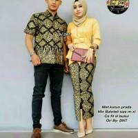 Kebaya Batik Couple Sarimbit Baju Pesta Seragam Keluarga Modern