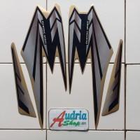 Striping Stiker Motor Yamaha Rx King 2002 Silver-Gold