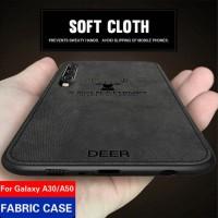 Samsung Galaxy A50 A30s A50s Soft Case DEER Cloth Back Cover