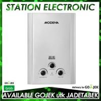 Modena Water Heater Gas GI 6 V Putih - Khusus (GO-JEK/GRAB)