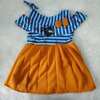 Dress Sabrina Tali Uk 1-2 thn Dress anak Baju anak pakaian anak murah