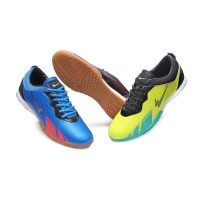 Sepatu Eagle Barracuda - Futsal Shoes - Citroen Black, 38 Promo