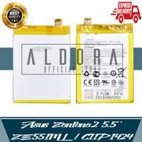 Aldora Baterai Asus Zenfone 2 5.5 ZE551ML C11P142 Z00AD Premium Qualit