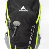 Tas Daypack Eiger 2228 Compact Black Green - Tas Laptop,Tas