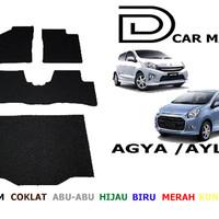 Karpet Mobil Premium Toyota Agya / Ayla full Bagasi Murah