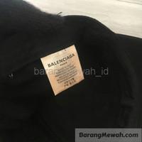 TOPI BALENCIAGA BASEBALL CAP BLACK original