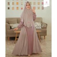 Baju Gamis Wanita Syari Dewasa Zenya Fashion Muslim Cewek Terbaru