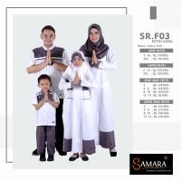 SR F03   Sarimbit Couple Keluarga Seragam Muslim Baju Baru Koko Gamis